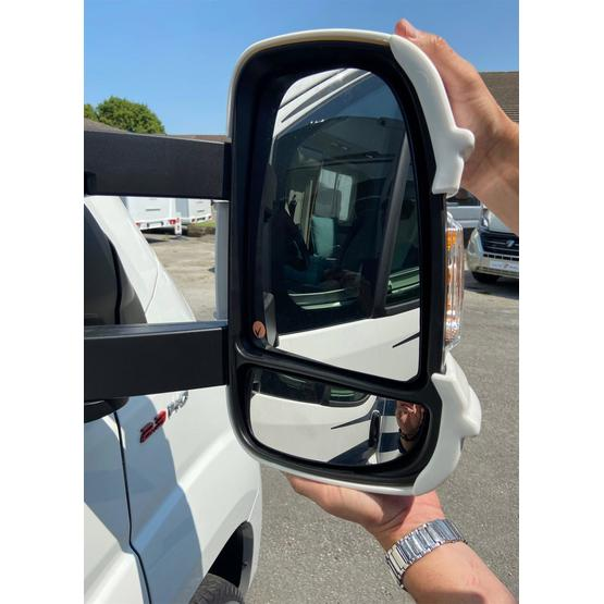 Milenco Motorhome Mirror Protectors (Wide Arm) - Black image 4