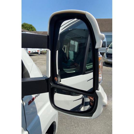 Milenco Motorhome Mirror Protectors White (Wide Arm) image 7
