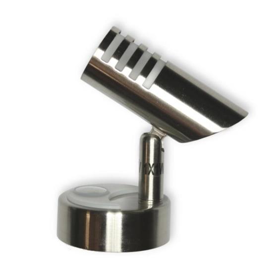 Mini Zebra Touch Spotlight (Nickel) image 1