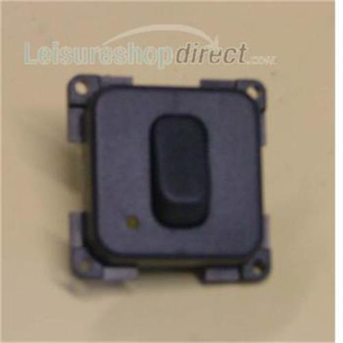 Single Unipolar + LED Switch