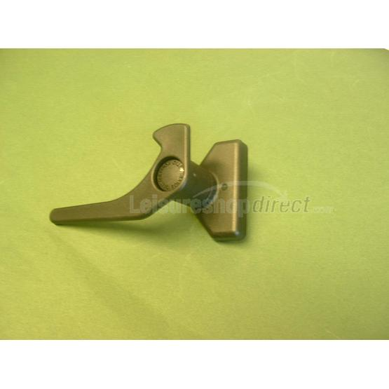 New Polyplastic window lever with button image 1