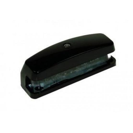 Number plate lamp - black image 2