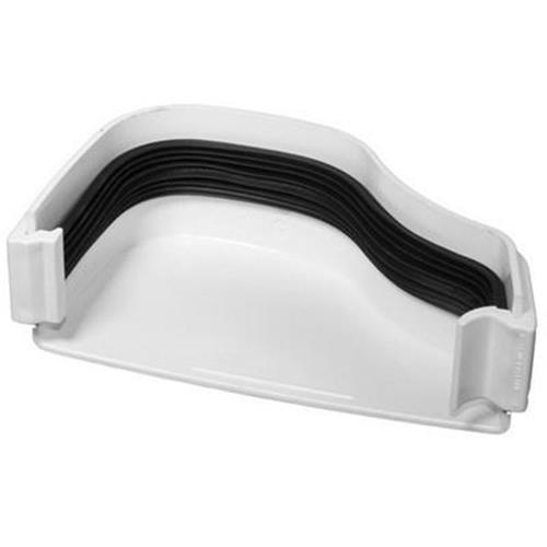 OGEE EXTERNAL STOP L/H WHITE (ROG07W) image 1