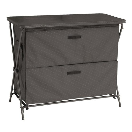 Outwell Aruba Camping Cabinet image 1
