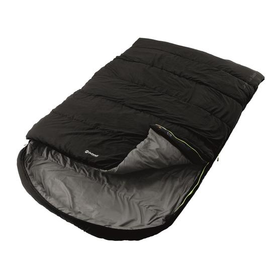 Outwell Campion Lux Double Sleeping Bag NEW Updated 2019 Model