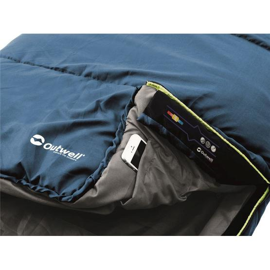 Outwell Campion Lux Blue Sleeping Bag image 3