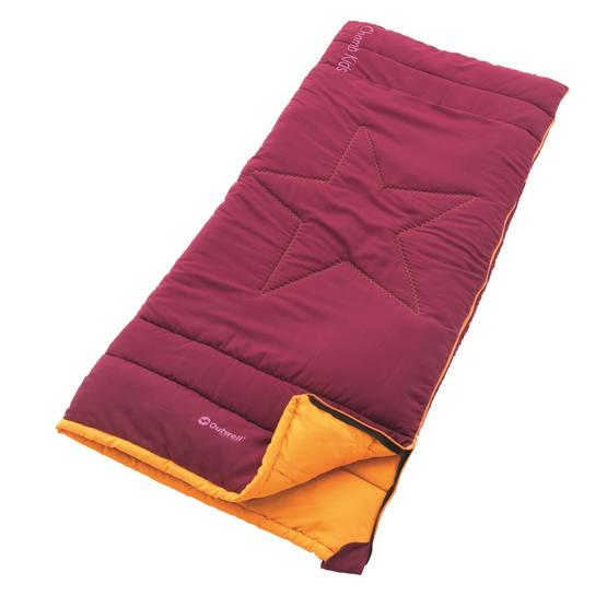 Outwell Champ Kids Sleeping bag (Beet Red) image 1