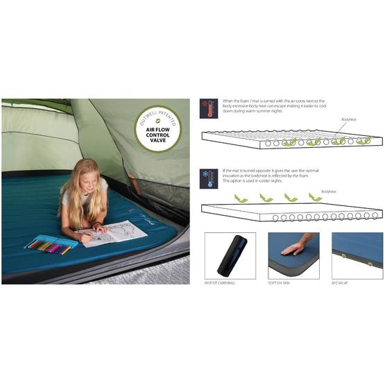 Outwell Dreamboat Single 12.0 cm Self-inflating mat image 7