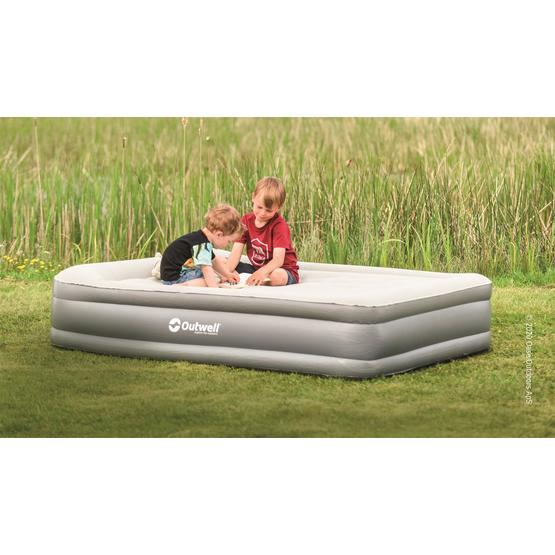Outwell Flock Superior Double Airbed with Built-in Pump by Outwell