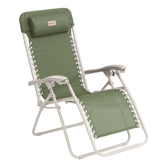 Outwell Ramsgate Green Vineyard Reclining Camping Chair image 1