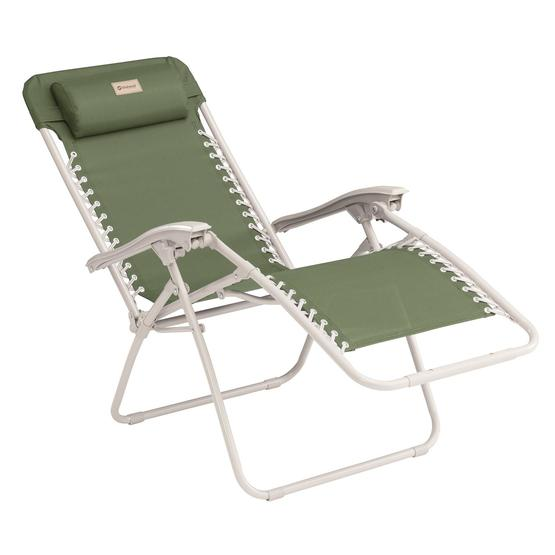 Outwell Ramsgate Green Vineyard Reclining Camping Chair image 2
