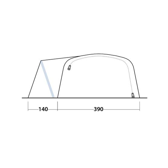 Outwell Hartsdale 6PA Air Tent 2020 image 13
