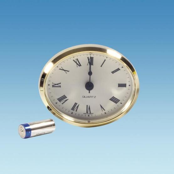 Oval Insert  Caravan Clock image 1