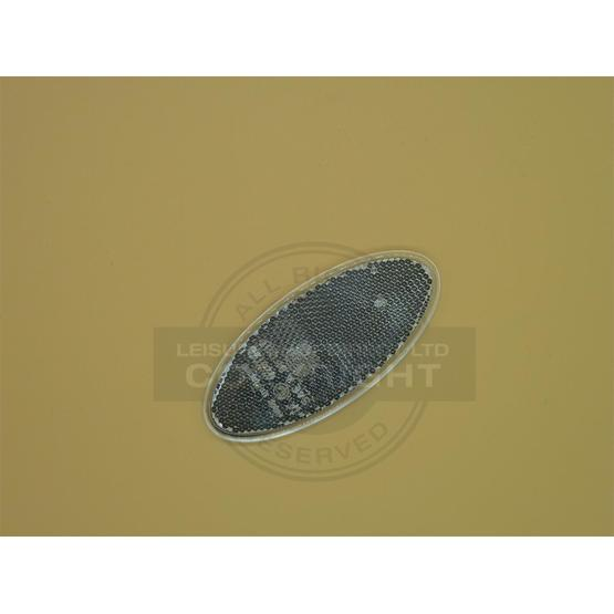 Oval reflector - white image 1