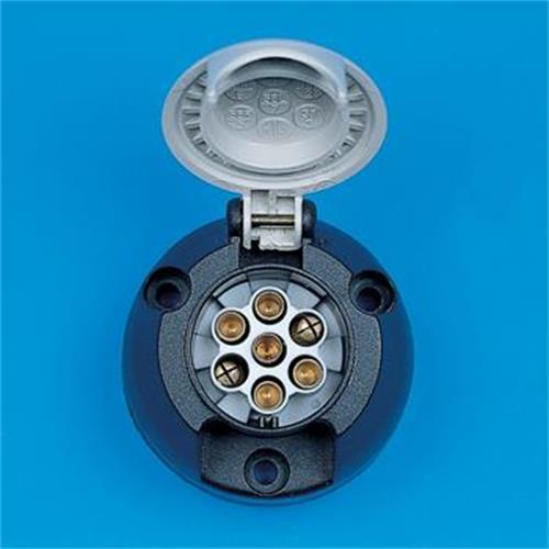 pre packed grey 's' type socket image 1