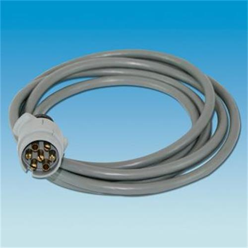 Pre-Wired Grey 'S' Plug (3000mm Cable) image 1