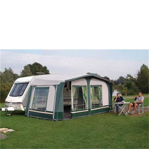 Sunncamp Prestige Awning Green. Size 4