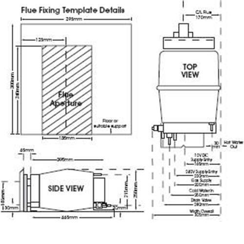 propex malaga 5e gas  electric water heater