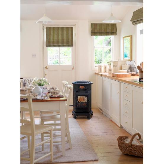 Provence Gas Heater - Matt black image 7