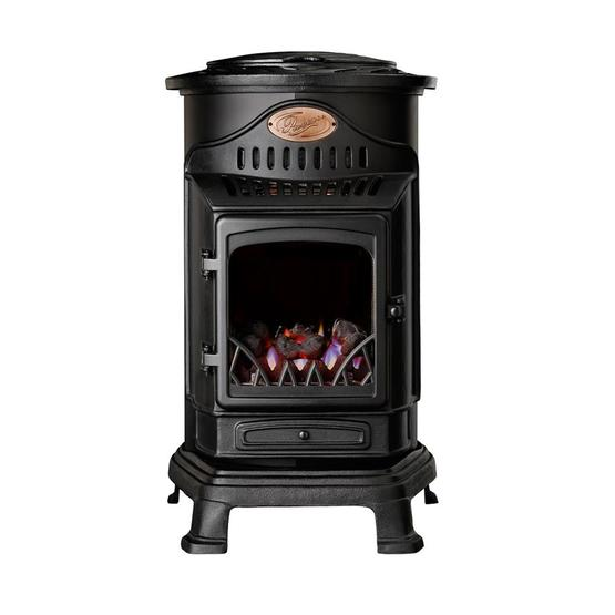 Provence Gas Heater - Matt black image 6