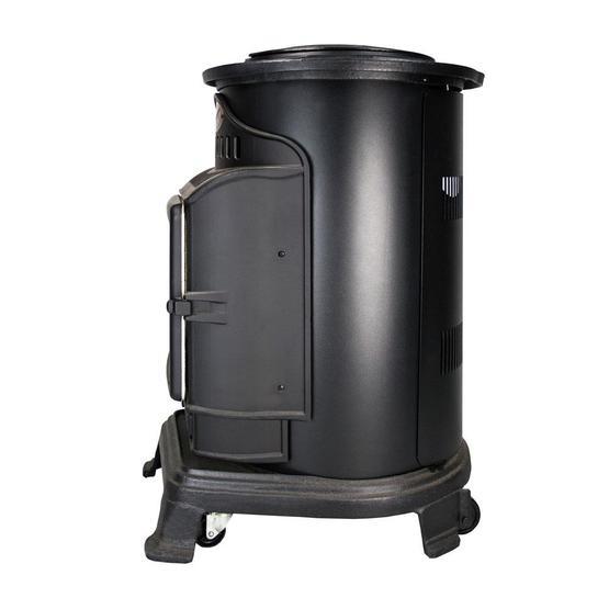 Provence Gas Heater - Matt black image 5