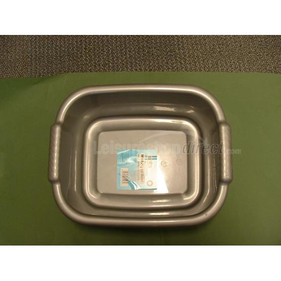 Rectangular Washing Up Bowl, Silver image 2