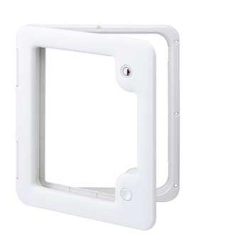 Thetford Service Door 3 - Cream White