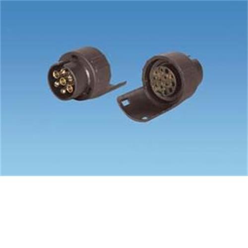 short conversion 13 pin socket to 7 pin plugs image 1
