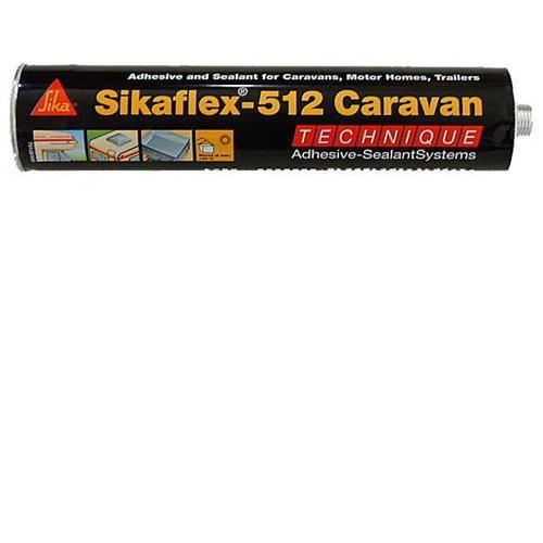 Sikaflex - 512 Caravan Sealant White image 2