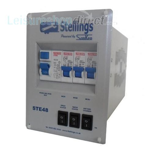 Stelling Mains Consumer Unit with 3 Stage Charger image 1