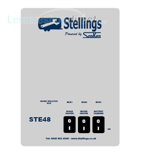 Stelling Mains Consumer Unit with 3 Stage Charger image 2