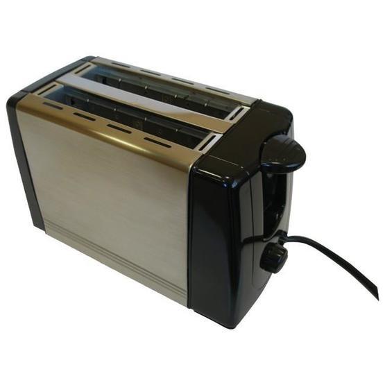 Swiss Luxx Stainless Steel 2-Slice Toaster - 700 Watt image 1