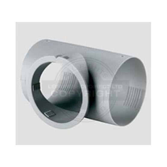 Truma T Pipe for outlet 65mm for Truma Blown Air Systems image 1