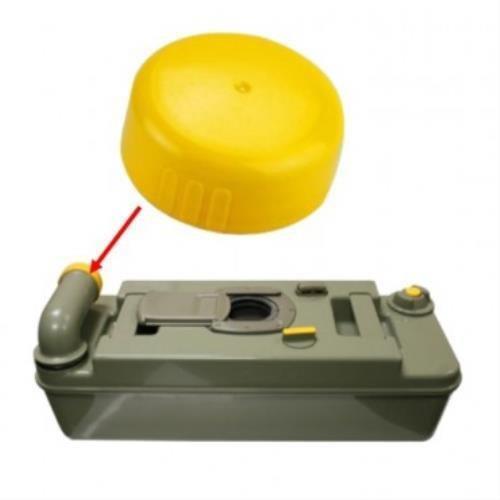 Thetford Dump cap yellow image 2