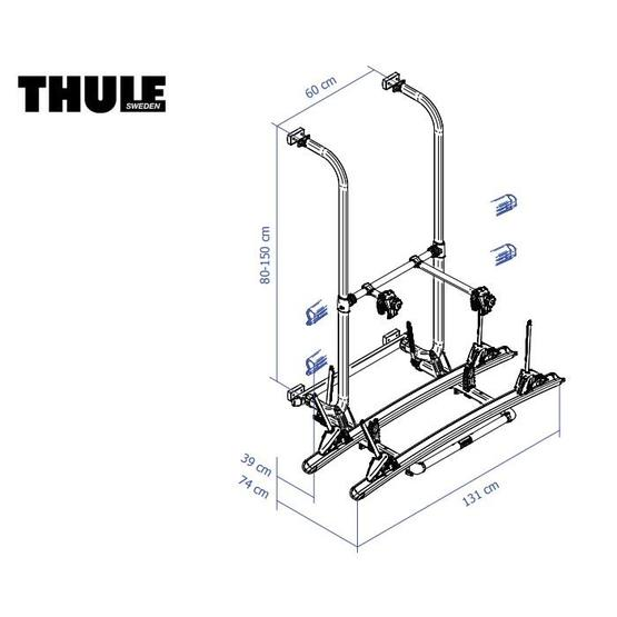 Thule Elite G2 Standard Version Bike Carrier image 10