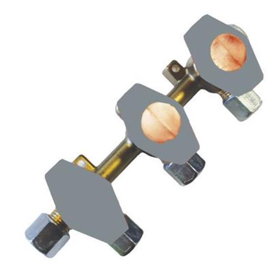 Truma 3 Tap Gas Manifold 8mm - VK3-8MM DVP ASSEMBLED VALVES image 1