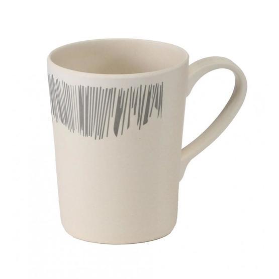 Vango Bamboo 350ml  Mug - Grey Stripe image 1