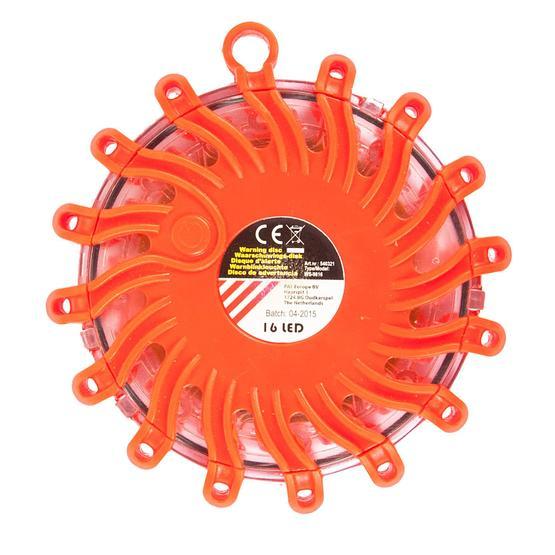 Via Mondo 16 LED Orange Warning Disk image 1