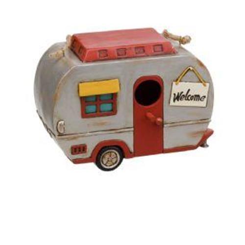 Vintage Caravan Polyresin Birdhouse image 1