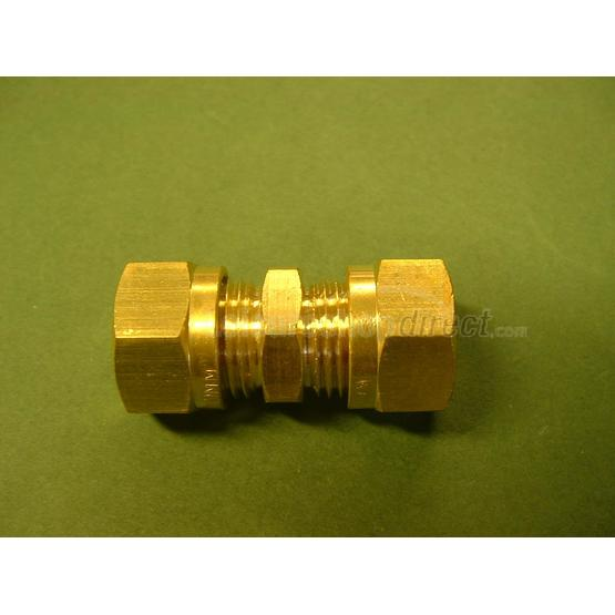 Wade 10 mm straight coupler image 1
