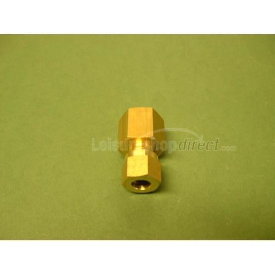 "Wade 8 mm x 1/4"" straight adaptor, comp x female image 1"