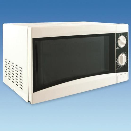White Low Wattage Microwave Oven 17 Litre image 1